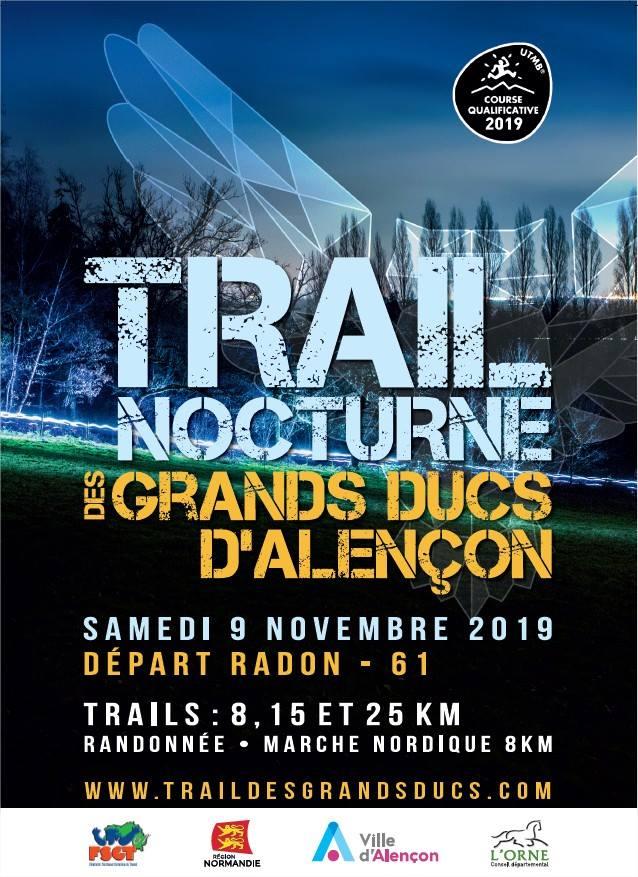 trail nocturne des grands ducs d'aleçon